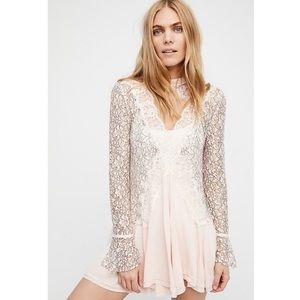 Free People | Pearl Tell Tale Lace Tunic N28